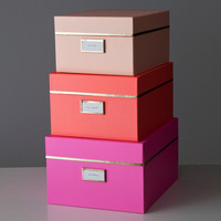 Kate Spade Nesting Boxes - Neon