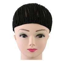 Cornrow Wig Cap For Making Wigs Adjustable Braided Wig Cap For  Women Hairnets Easycap With 1PC crochet braid needle GIFT