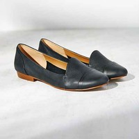 Kelsi Dagger Brooklyn Dancer Leather Loafer- Black