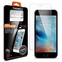 iPhone 6s Screen Protector, Spigen® iPhone 6 6S Glass Screen Protector [3D Touch Compatible - Tempered Glass] Most Durable [Easy-Install Wings] Rounded Edge [Life Warranty] - (SGP11588)