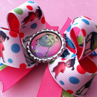 SALE Disney Pixar Monsters inc boutique bow
