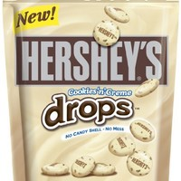 HERSHEY'S Cookies 'n' Creme Drops, (8-Ounce Pouche, Pack of 4)