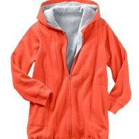 Women's Plus Size Jacket, Thermal-Lined Hooded Fleece With Drawstring Hem
