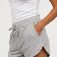 Sweatshorts - Gray melange - | H&M US