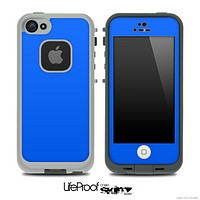 Solid Royal Blue Skin for the iPhone 5 or 4/4s LifeProof Case