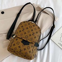 Louis Vuitton LV Classic Backpack Ladies Fashion Backpack  bag