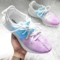 Adidas Trending Yeezy Boost 350 V2 Fresh Color Sports Sneakers Fashion running shoes