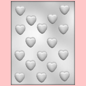 "1"" Plain Heart Chocolate Mold"