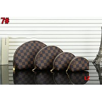 Louis Vuitton LV Popular Women Wallet Purse Cosmetic Bag Travel Storage For Accessories Four Piece Set Coffee