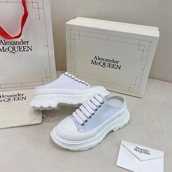 Alexander McQueen  Woman's Men's 2020 New Fashion Casual Shoes Sneaker Sport Running Shoes0524gh