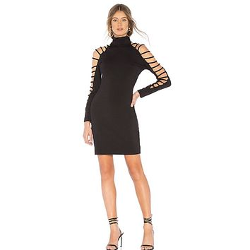 Long Sleeve Cutout Dress
