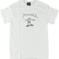 Thrasher Gonzales Tee Medium White