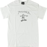 Thrasher Gonzales Tee Small White