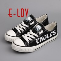 Philadelphia Eagles Canvas Shoe Fashion