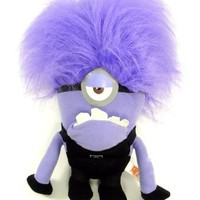 Despicable Me 2 - Evil ONE EYED Purple Minion 10 Plush