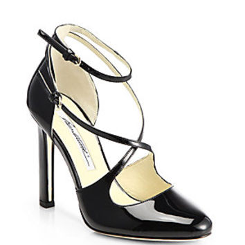Brian Atwood - Peyton Patent Leather Pumps