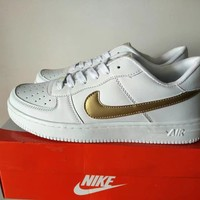 """""""Nike Air Force 1"""" Unisex Sport Casual Classic Low Help Shoes Sneakers Couple Plate Shoes"""