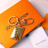 LV tide brand female high-end versatile bag jewelry keychain