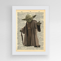 Instant Download,, Yoda Star Wars Movie Poster (Yoda Print , Master Yoda, Star Wars Yoda Poster, Star Wars Printable, Master Yoda Art Print)