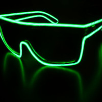 Powered Glow in the Dark Sunglasses by SickShades on Etsy