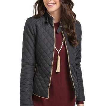 Vancouver quilted puffer jacket