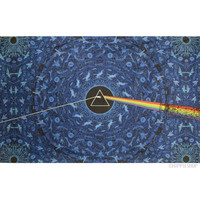 Pink Floyd - Dark Side Prism 3D Tapestry on Sale for $26.95 at HippieShop.com