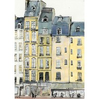 A Bit of Paris 5 x 7 by artquirk on Etsy