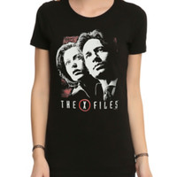 The X-Files Mulder And Scully Girls T-Shirt
