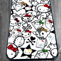 Hello Kitty for iPhone 4/4s/5/5S/5C/6, Samsung S3/S4/S5 Unique Case *95*