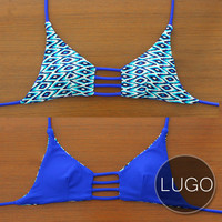 LUGO - Handmade Reversible Triangle Strap Top