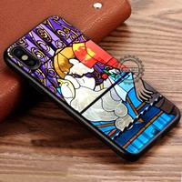 Stained Glass Art Kissing Sleeping Beauty iPhone X 8 7 Plus 6s Cases Samsung Galaxy S8 Plus S7 edge NOTE 8 Covers #iphoneX #SamsungS8