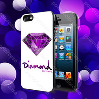 Diamond Supply Co Custome 5 Case For iPhone 5, 5S, 5C, 4, 4S and Samsung Galaxy S3, S4
