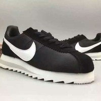 """""""NIKE"""" Fashionable Personality Casual Black Sneakers Elevator Shoes"""