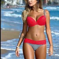 Bikini Neoprene Swimsuits Bathing Suit