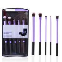 5pcs Professional beauty Real Makeup Brushes set Techniques make up  Eyeliner brush lip eyeshadow powder maquiagem Cosmetic Tool