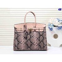 Hermes Serpentine Hot Sale Women Shopping Bag Leather Handbag Tote Shoulder Bag 4#