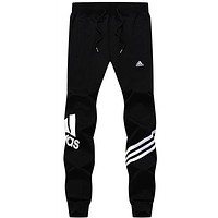 ADIDAS Women Men Unisex Casual Pants Trousers Sweatpants-4