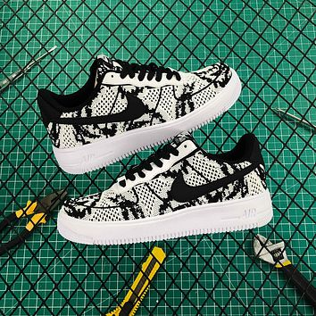 Nike Air Force 1 Flyknit 2.0 White/black