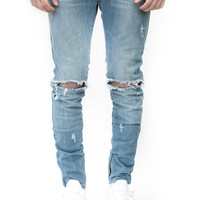 ESSENTIAL DENIM AGED BLUE DISTRESSED   Wings Of Liberty