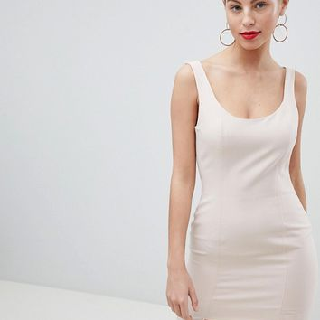 Missguided Peace And Love Stepped Hem Mini Dress at asos.com