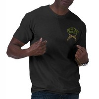 Military Police- Two Sided Tee Shirt from Zazzle.com