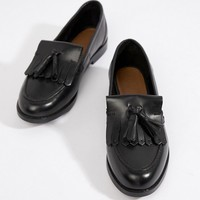 ASOS DESIGN Maxwell leather loafers at asos.com