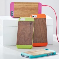 Wood Pop Color iPhone 5/5s Case