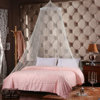 Dome Elegant Lace House Bed Netting Canopy Circular Mosquito Net Sale 85269