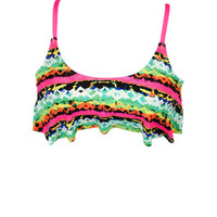 Crop Top - Pink Multi