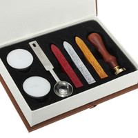 Seal Sealing Wax Set Stick Stamp For Letters Wedding Invitation New = 1932357252