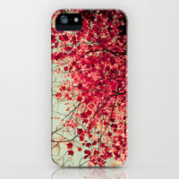 Autumn Inkblot iPhone Case by Olivia Joy StClaire | Society6