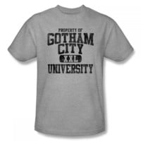 Batman Property Of Gotham City University Mens T-Shirt
