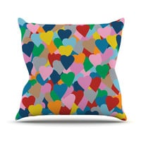 """Project M """"More Hearts"""" Throw Pillow"""