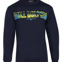 Men's Alpha Dolphin L/S UV Fishing T-Shirt